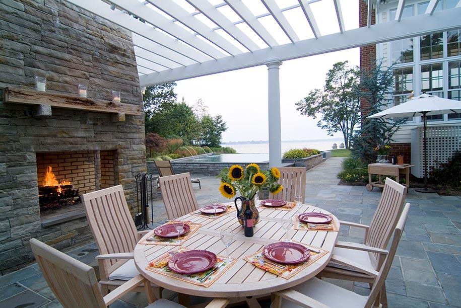 Fishing Creek Residence Walnut Hill Landscape Company